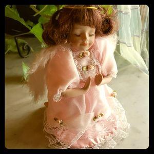 Other - Porcelain Doll Kneeling Angel